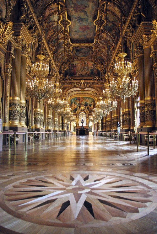 Grand-Foyer of Paris Opera © French Moments