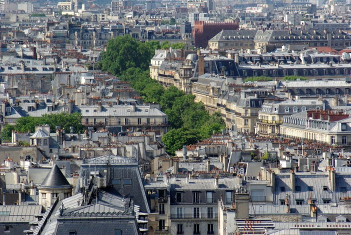 Panoramic View from Tour Saint-Jacques 63 copyright French Moments