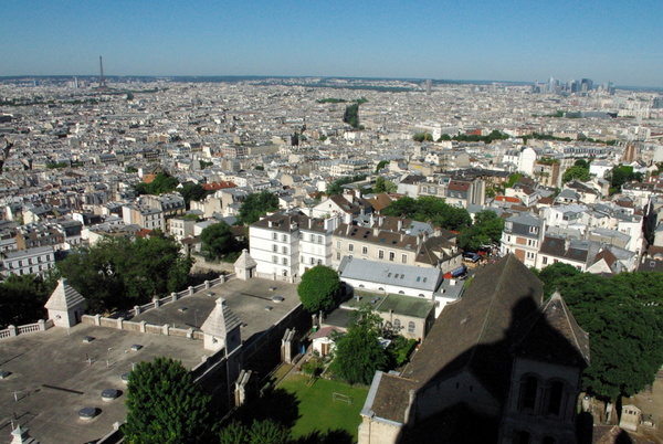 Paris View from Montmartre 2 copyright French Moments