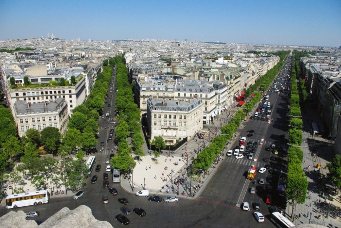 The Historical Axis of Paris from the Arc de Triomphe © French Moments