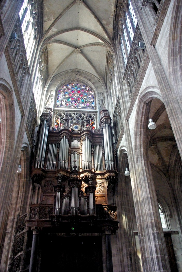 Great organ of Saint Maclou church in Rouen copyright French Moments