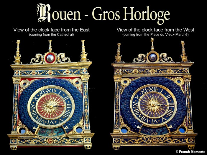 Gros Horloge Faces copyright French Moments