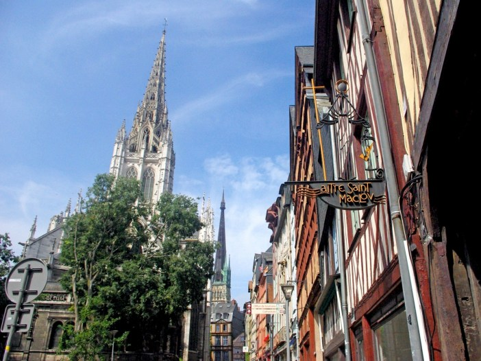 Rue Martainville Rouen © French Moments
