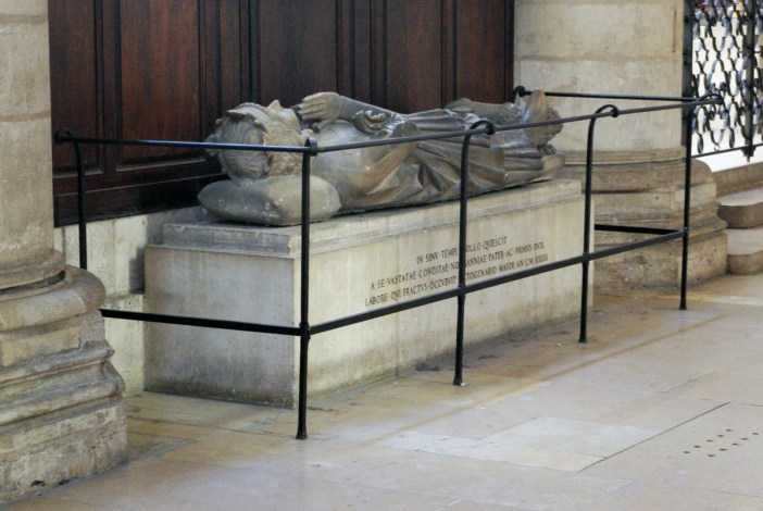 Rollo Recumbent Statue in Rouen Cathedral © French Moments