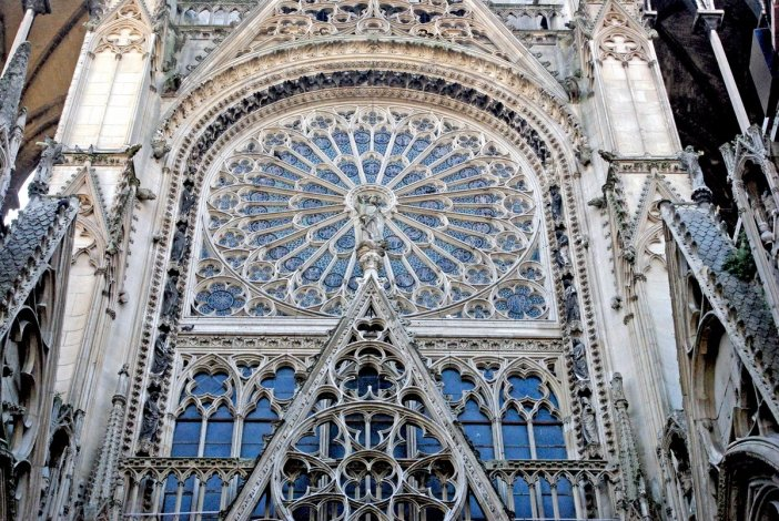 Rose Window of North Transept © French Moments