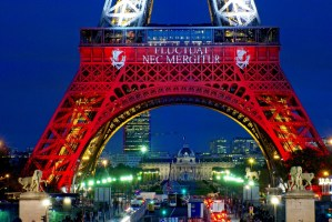 Eiffel Tower Blue White Red 08 © French Moments