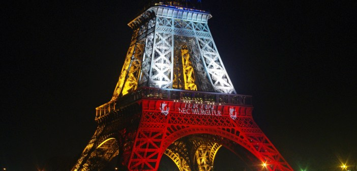 Eiffel Tower Blue White Red 12 © French Moments