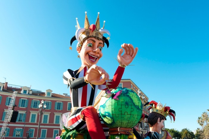 The King, Nice Carnival © H. Lagarde - OTC Nice