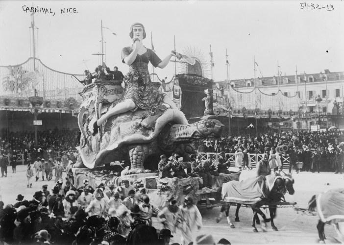 Nice Carnival in the 1900s [Public Domain]