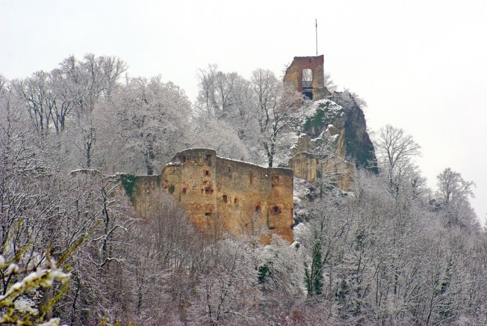 The two castles of Ferrette © French Moments