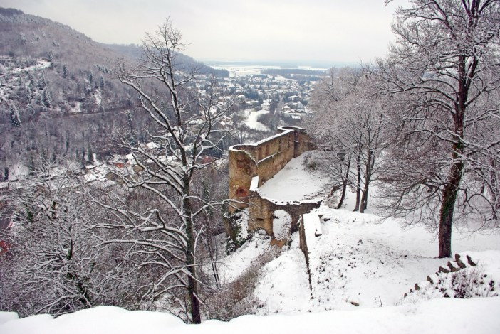 View from the castle of Ferrette © French Moments