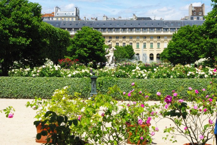 The gardens of Palais-Royal, Paris © French Moments