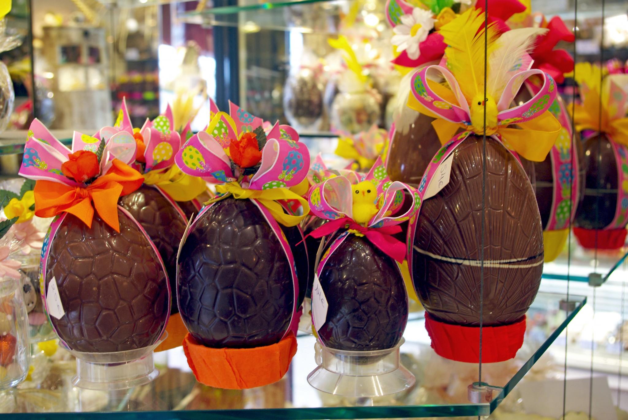 Easter Egg Nest In France