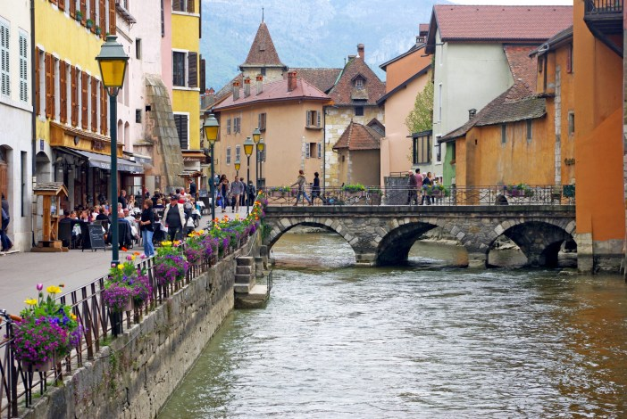 Little Venice in Annecy © French Moments