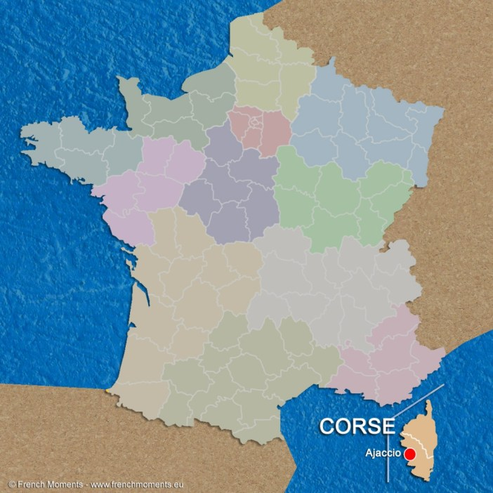 Regions of France Corse June 2016 copyright French Moments