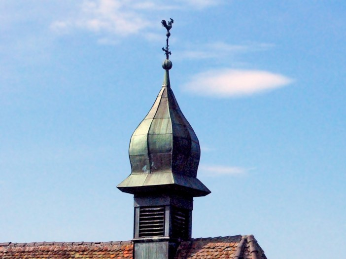 Weathercock in Hirtzbach, Alsace © French Moments