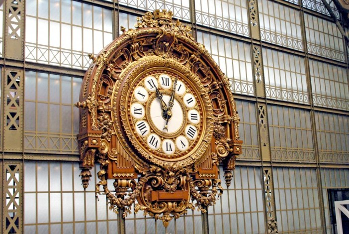 Public clocks in Paris