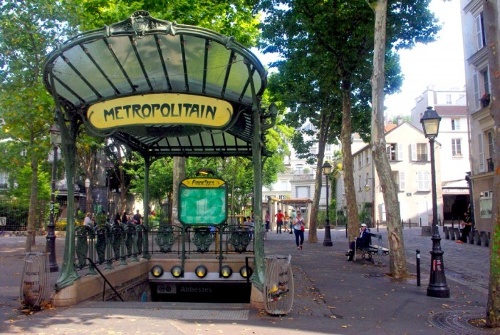 Abbesses métro station