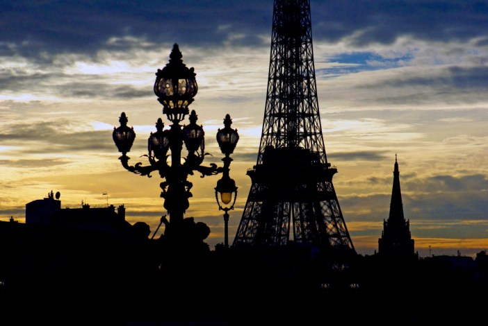 Pont Alexandre III Eiffel Tower