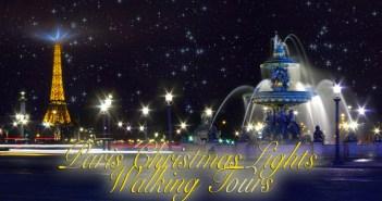 Paris Christmas Lights Walking Tour