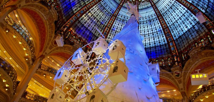 Christmas 2016 at Galeries Lafayette