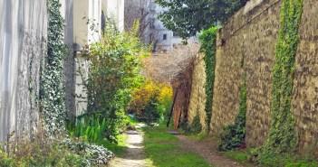 Impasse de la Santé Paris' last dirt track
