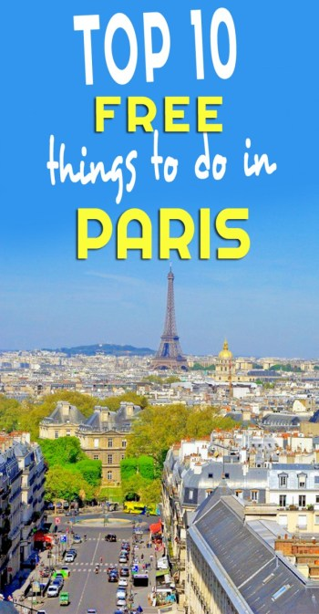 Top 10 Free things to do in Paris by French Moments