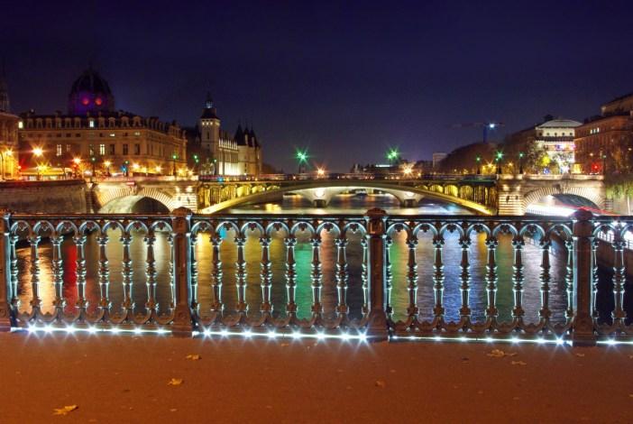 Pont d'Arcole Paris Seine