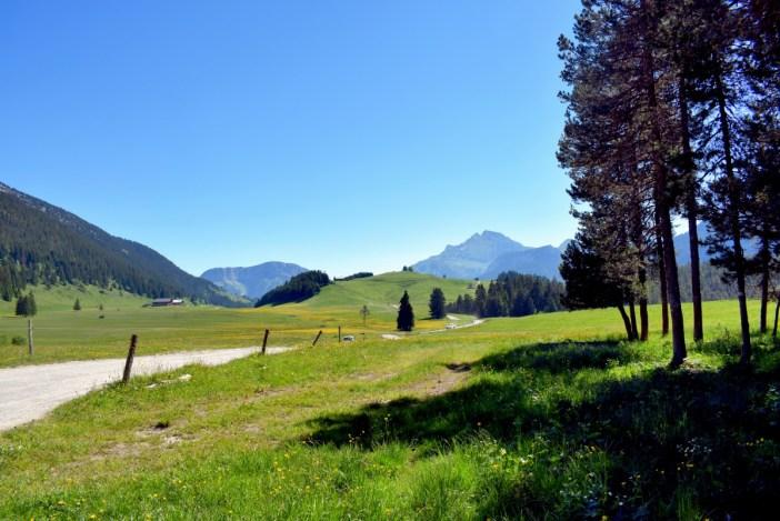 Glieres Plateau departement of Haute-Savoie
