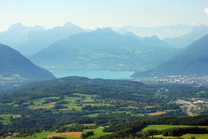 Salève mountain Lake Annecy