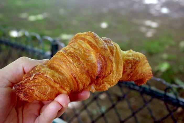 Croissant Au paradis Gourmand Paris