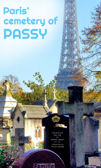 Passy Cemetery Paris French Moments