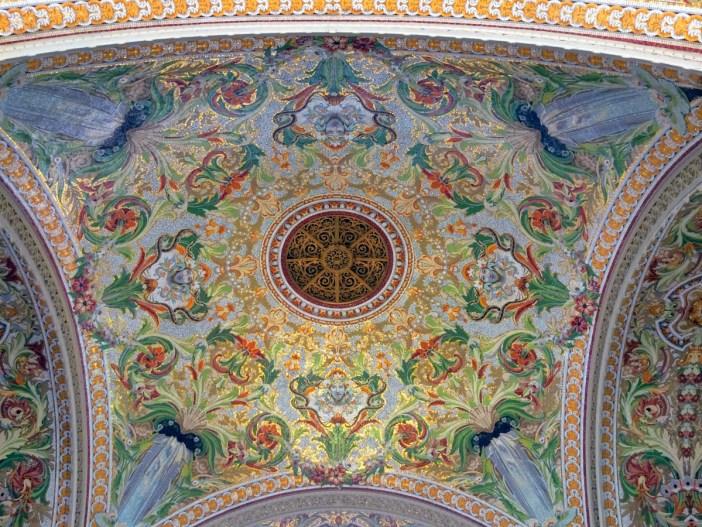 The Art Nouveau mosaics, Casino of Aix-les-Bains © French Moments