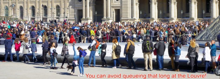 Avoid the queue at the Louvre © French Moments