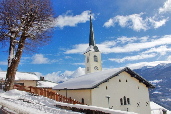Granier Church Winter © French Moments