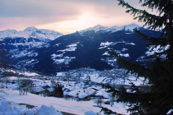 The Middle Tarentaise Valley in Winter © French Moments