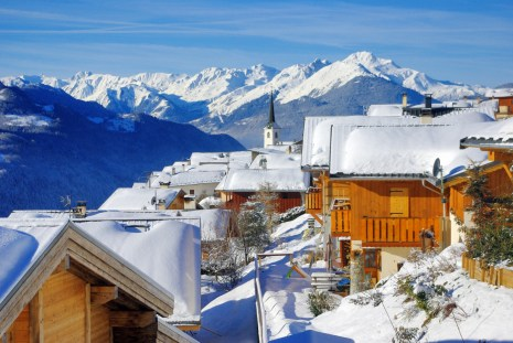 The village of Granier in Winter © French Moments
