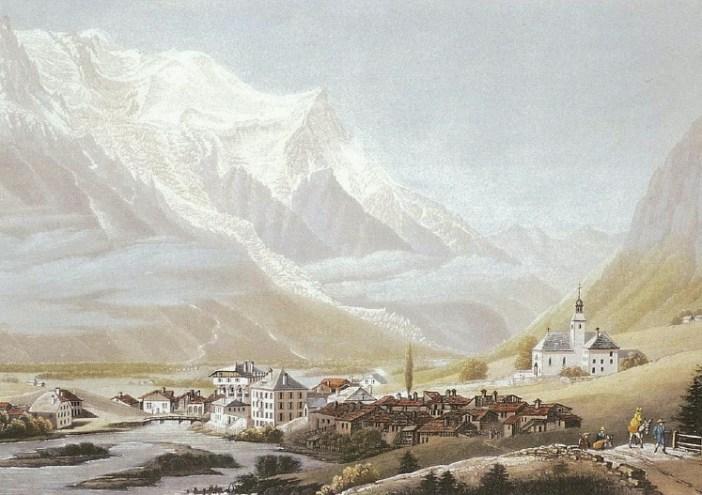 Chamouni or Chamonix-Mont-Blanc