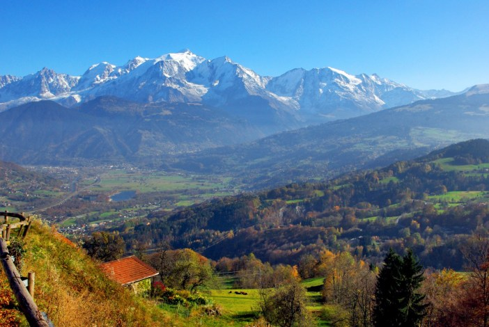 Mont-Blanc from Lintre (Sallanches) © French Moments