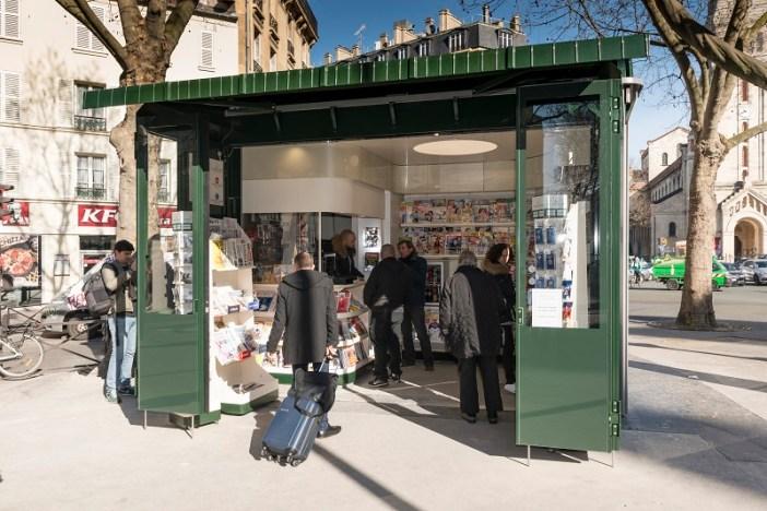 The new kiosk of Paris (2018) © Paris.fr