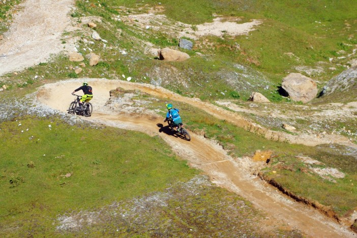 Mountain bike trail Les Arcs © French Moments