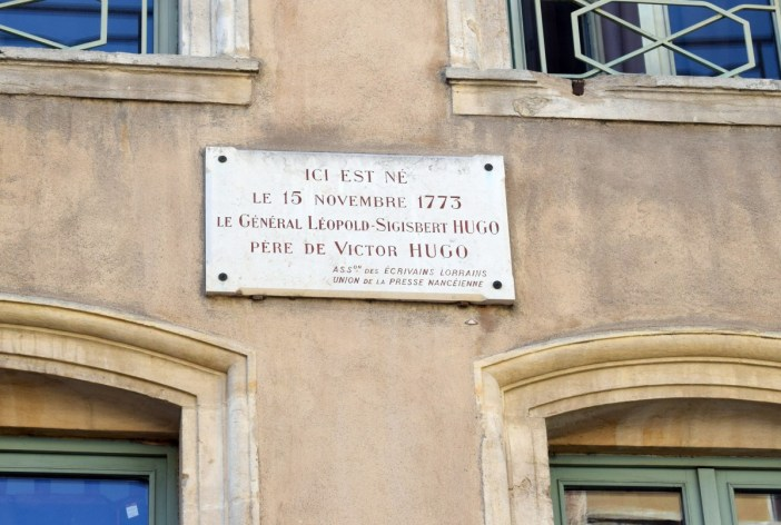 Birthplace of Victor Hugo's father, rue des maréchaux, Nancy © French Moments