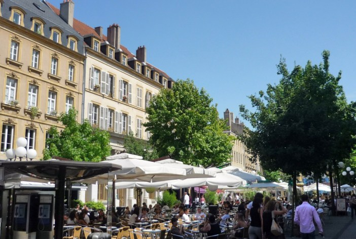 Place Saint-Jacques Metz © French Moments