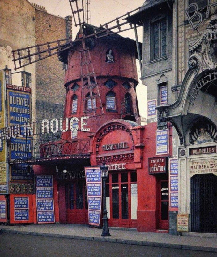 The original Moulin Rouge in 1914