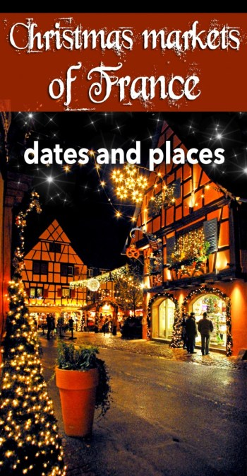 The dates of Christmas markets in France © French Moments