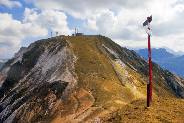 La Grande Rochette, La Plagne in Autumn © French Moments