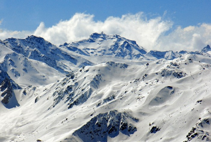 The Cime de Caron seen from the Grande Rochette © French Moments