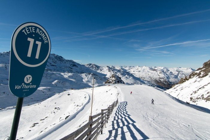Ski runs in Val Thorens © T.Loubere OT Val Thorens