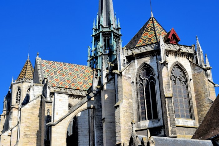 The chevet of Dijon cathedral © French Moments