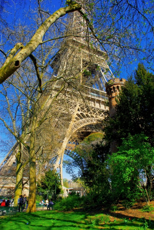 The gardens of the Eiffel Tower © French Moments